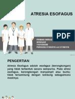 ateresia esofagus