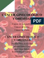 Cancer ginecologico y obesidad