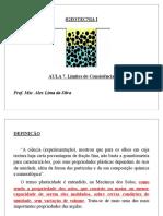 Mecânica Dos Solidos - Aula 7 - Limites de Consistência
