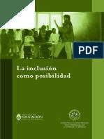 La Inclusion Como Posibilidad Kaplan