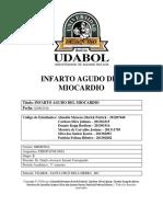 Infarto Agudo Del Miocardio- Fisiopatologia