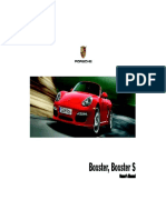 Owners Manual Boxster PCNA