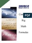 Common Rig Math