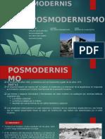 POSMODERNISMO-TARDOMODERNO