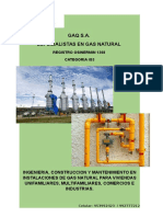 Encarte Gaqsa Gas Natural AQP