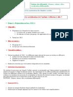 thème 11- socialisation Etape 1 - Exercices d'apprentissage de l'EC1