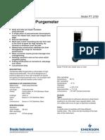 Rotametro Cromatografo