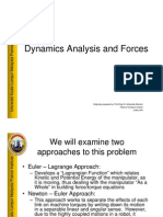 L11 - Dynamics Analysis and Forces 1 V1