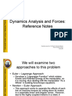 L12 - Dynamics Analysis and Forces 2 V1
