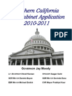 NC Cabinet Application