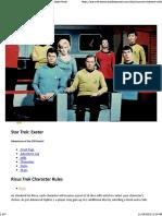 Risus Trek - Star Trek Exeter