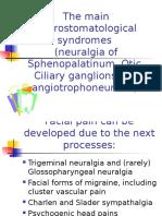 Neurostomatological Syndromes