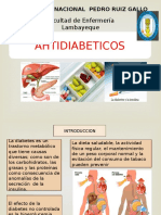 FARMACOLOGÍA Antidiabeticos e Insulina