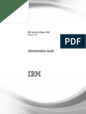 Qradar Admin Guide | Application Programming Interface | Tab (Gui)