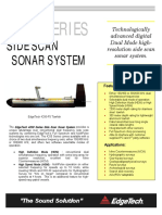 4200 Series Brochure - Side scan sonar