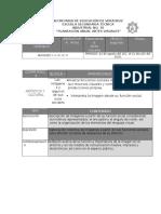 Planeacion Anual 2do Artes