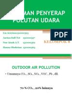 Tanaman Penyerap Polutan Udara
