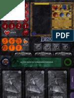 Descent PlayerMat 2pages