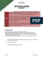 Instructiuni Update Revo r70