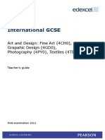 IGCSE Art and Design TSM