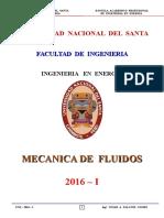 Mec. Fluidos - 2016 - I - Sesión Nº 1
