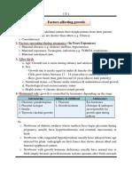 Ped Growth & Development