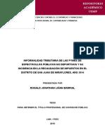 Tesis 2_informalidad Tributaria de Las Pymes-pract2 (20-Jun-2016)