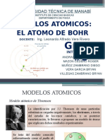 Atomo de Bohr