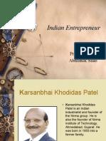 Indian Entrepreneur
