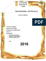 Informe de Proyecto Minero Poderosa