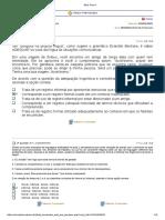 AV 1 Língua Portuguesa (Estácio de Sá 2016.1)