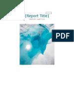 Student Report