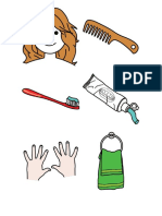 Asociaciones objeto-objeto (Aseo personal)