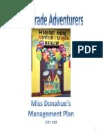 Management Plan 11.19.14