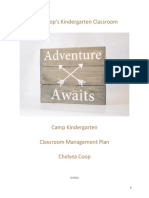 EDUC 122 Classroom Management Plan