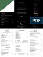Del Frisco's dinner menu
