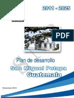 Plan de desarrollo San Miguel Petapa, Guatemala