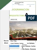 Tesis Programacion - Estacion de Tren, Patio de Comidas y Hospedaje Revit