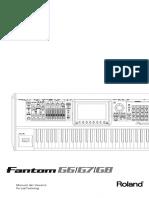 Manual Fantom G6, Fantom G7, Fantom G8