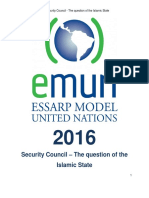 Security Council – the Question of the Islamic State