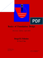 Basics of Foundation Design