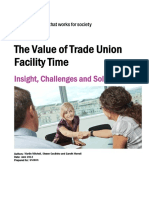 Bg Value of Union Facility Time Full Report Final