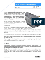 Rotrex Technical Datasheet C30 Range