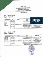 Jadwal IPITS PPs ITS Hari 1 + 2