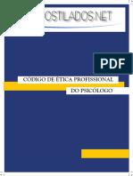 Codigo de Etica de Psicologia