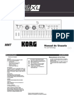 MicroKORG XL Manual