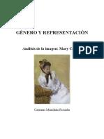 Género y Representación Mary Cassatt Por Carmen Marchán
