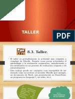 Configuración de Un Taller