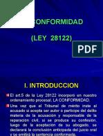 26.04.04. La Conformidad. Dr. Alonso Peña Cabrera.ppt