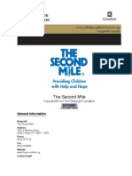 The Second Mile-Report